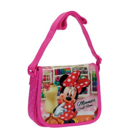 MINNIE Disney Sac a Bandouliere Rose