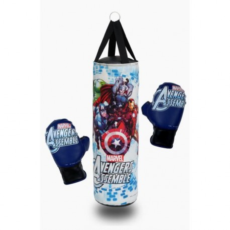 CAPITAIN AMERICA Avengers - Punching Ball 50cm + Gants