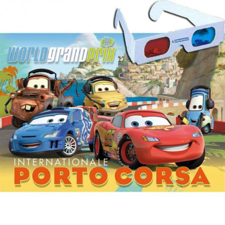 Puzzle 3D Cars2 - 104 pieces