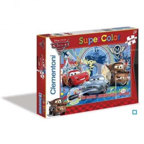 CARS Puzzle 2x20 pieces Clementoni