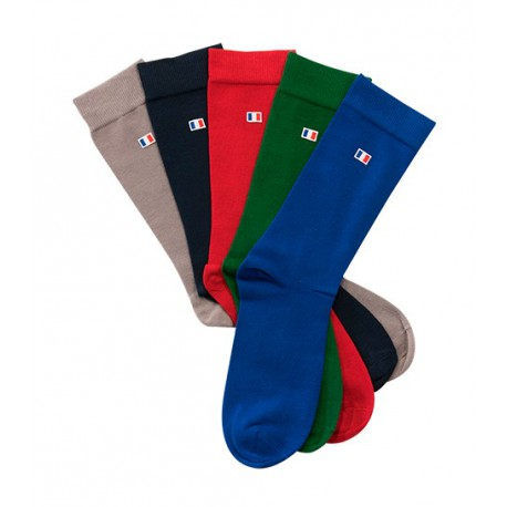 Chaussettes Le Pack Rouge-Bleu-Vert COCORICO