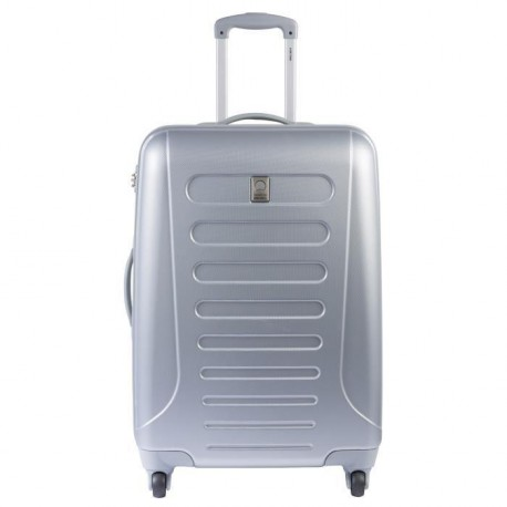 SELECTION DELSEY Valise Rigide ABS 4 Roues 62cm NEW ARROW Argent