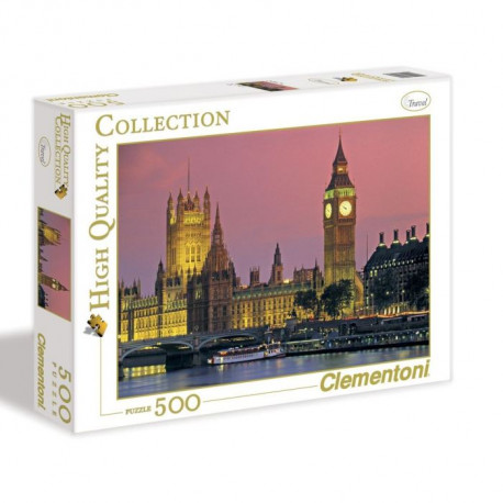 CLEMENTONI Puzzle Londres 500 pieces