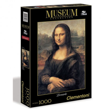 CLEMENTONI Leonardo Gioconda - 1000 pieces - Museum Collection - La Joconde de Léonard de Vinci