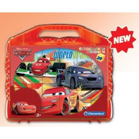 CARS Cubes 24 pieces Clementoni
