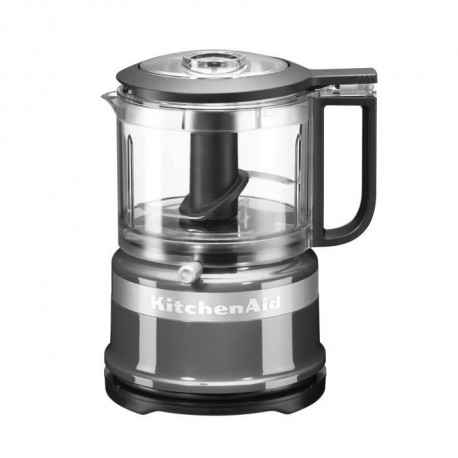 KITCHENAID 5KFC3516ECU Mini hachoir - Gris argent