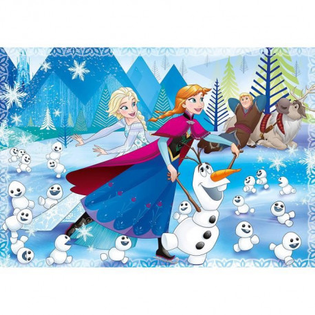 LA REINE DES NEIGES Puzzle 104 pieces MAXI