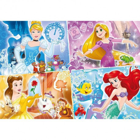 DISNEY PRINCESSES Puzzle 104 pieces MAXI