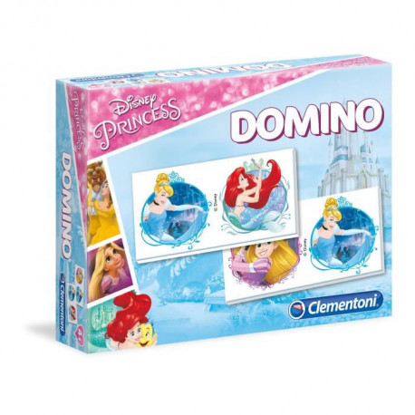 CLEMENTONI - Disney Princesses - Domino
