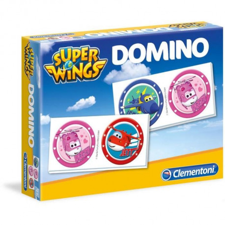 CLEMENTONI - Super Wings- Domino