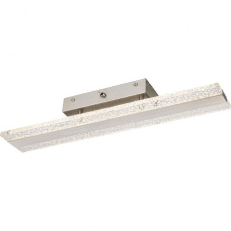 Applique LED en nickel mat 50x7x9cm