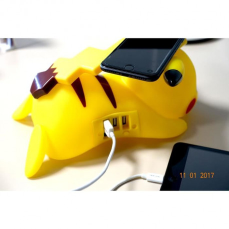 POKEMON Chargeur Induction Pikachu