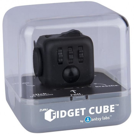 ZURU Fidget cube-midnight - Le cube anti stress
