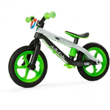 CHILLAFISH Draisienne BMXie-RS Man on the moon - Vert Citron - 2 a 5 Ans