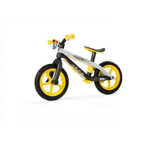 CHILLAFISH Draisienne BMXie-RS Thunderbamm lightning - Jaune - 2 a 5 Ans