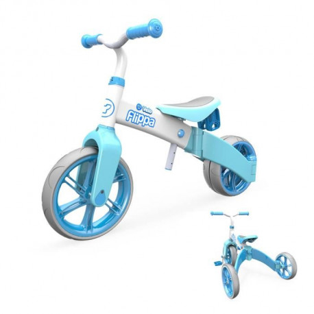 Y-VOLUTION - Tricycle Evolutif YVELO Flippa Bleu