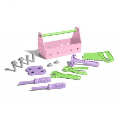 ASMOKIDS - GREEN TOYS - La Caisse A Outils Rose
