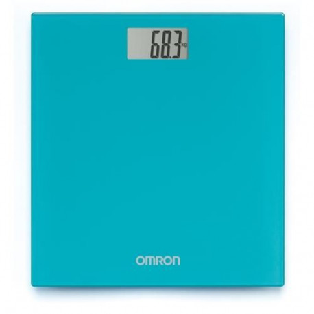 Pese-personne digital turquoise Omron HN289EB