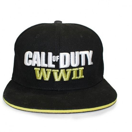 Casquette Call of Duty : WWII - Noire