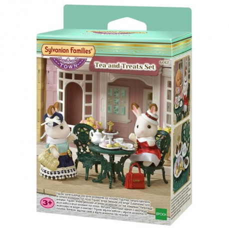 SYLVANIAN FAMILIES 6012 - Le Set De The Et De Gourmandises
