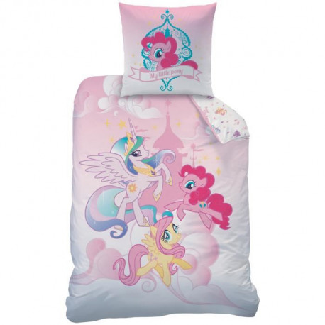 MY LITTLE PONY ROYALLY Parure de Couette enfant Coton 140 x 200 cm