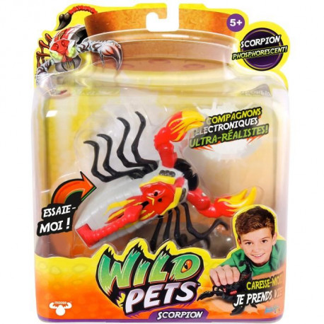 ASMOKIDS - WILD PETS - Scorpions Orange Interactif