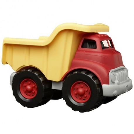ASMOKIDS - GREEN TOYS - Le Camion Benne Rouge