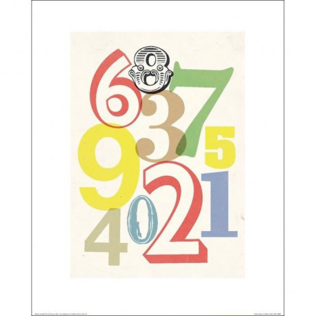 Affiche papier - Anthony Peters (Small Numbers)  -  40x50 cm