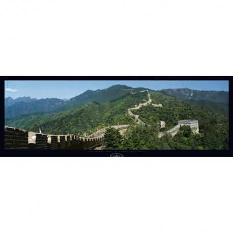 Affiche papier -  Great Wall of China  - Barbudo  - 33x95 cm