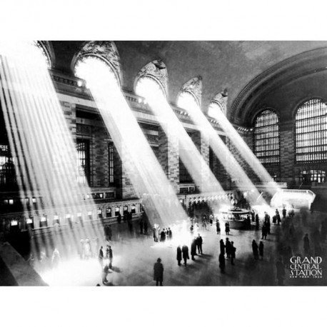 Affiche papier -  Grand Central Station, 1934  - Photography Collection  - 40x50 cm