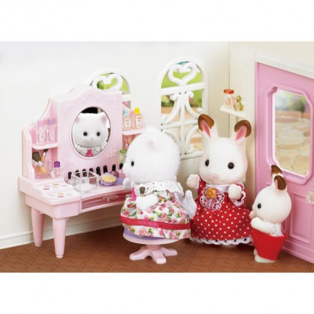 SYLVANIAN FAMILIES 5235 Table De Maquillage Et Figurine