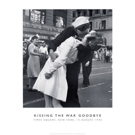 Affiche papier -  Kissing the War Goodbye  - Photography Collection  - 40x50 cm