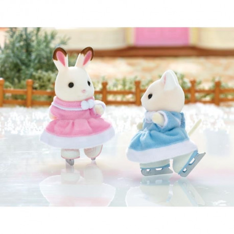 SYLVANIAN FAMILIES 5258 - Les Amies Patineuses
