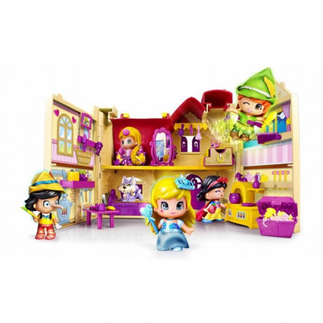 PINYPON La Maison Des Contes De Fees + 1 Figurines