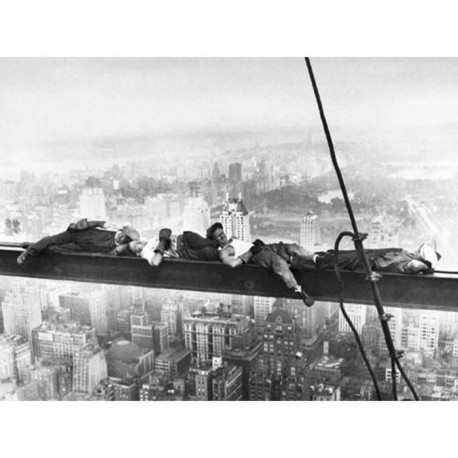 Affiche papier -  Sleeping above Manhattan  - Photography Collection  - 60x80 cm