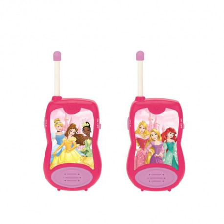 DISNEY PRINCESSE - Paire de Talkies-Walkies Enfant - Portée 100m