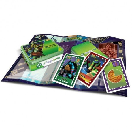 TORTUES NINJA Jeu LeapPad Imagicards LeapFrog