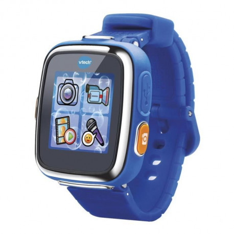 VTECH - Kidizoom Smartwatch Connect DX Bleue - Montre Connectée Enfant