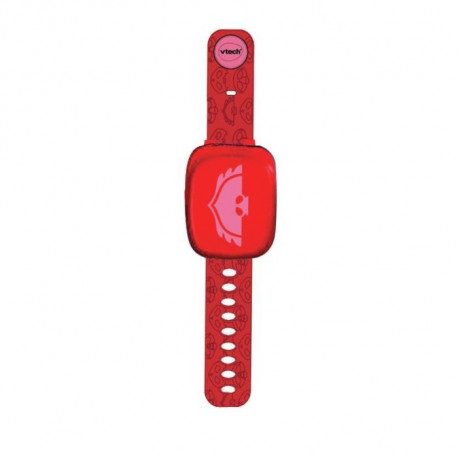 VTECH - Pyjamasques - La Montre Interactive de Bibou - Rouge