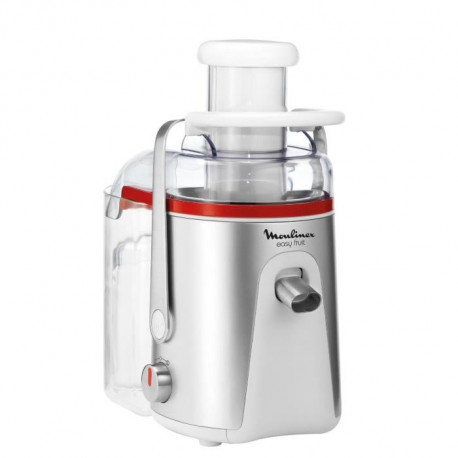 MOULINEX JU581136 Centrifugeuse Easy Fruit Blanche/Silver - 700W