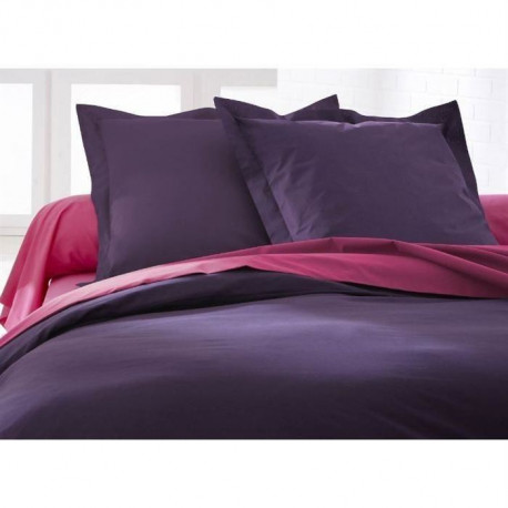 TODAY Lot de 2 taies d'oreiller 75x75 cm deep purple