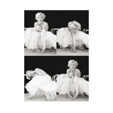 Affiche papier - Marilyn Monroe(Ballerina Sequence)  - Photography Collection -  60x80 cm