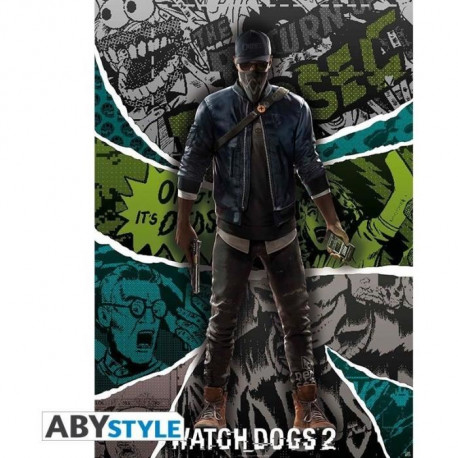 Poster Watch Dogs 2 : « Marcus »