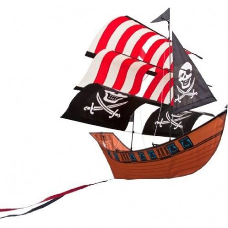 HQ Cerfs-Volants Monofils Blackbeard'S Ship Kite