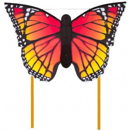 HQ Cerfs-Volants Monofils Butterfly Monarch Multicolore L