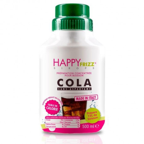 HAPPY FREEZ Sirop Cola - 500ml