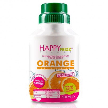 HAPPY FREEZ Sirop Orange - 500ml