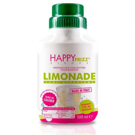 HAPPY FREEZ Sirop Limonade - 500ml
