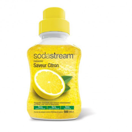 SODASTREAM Concentré Saveur citron original 500 ml