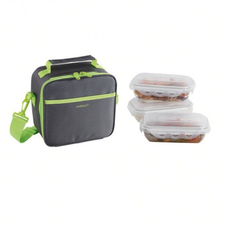 BE NOMAD SEP122V Set Sacoche Lunch box - Vert